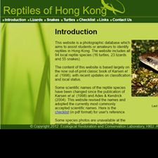 Reptiles of Hong Kong
