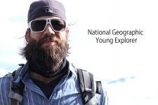 Jonathan Cybulski, named National Geographic Young Explorer, works on the paleoecology of Hong Kong's coral ecosystem